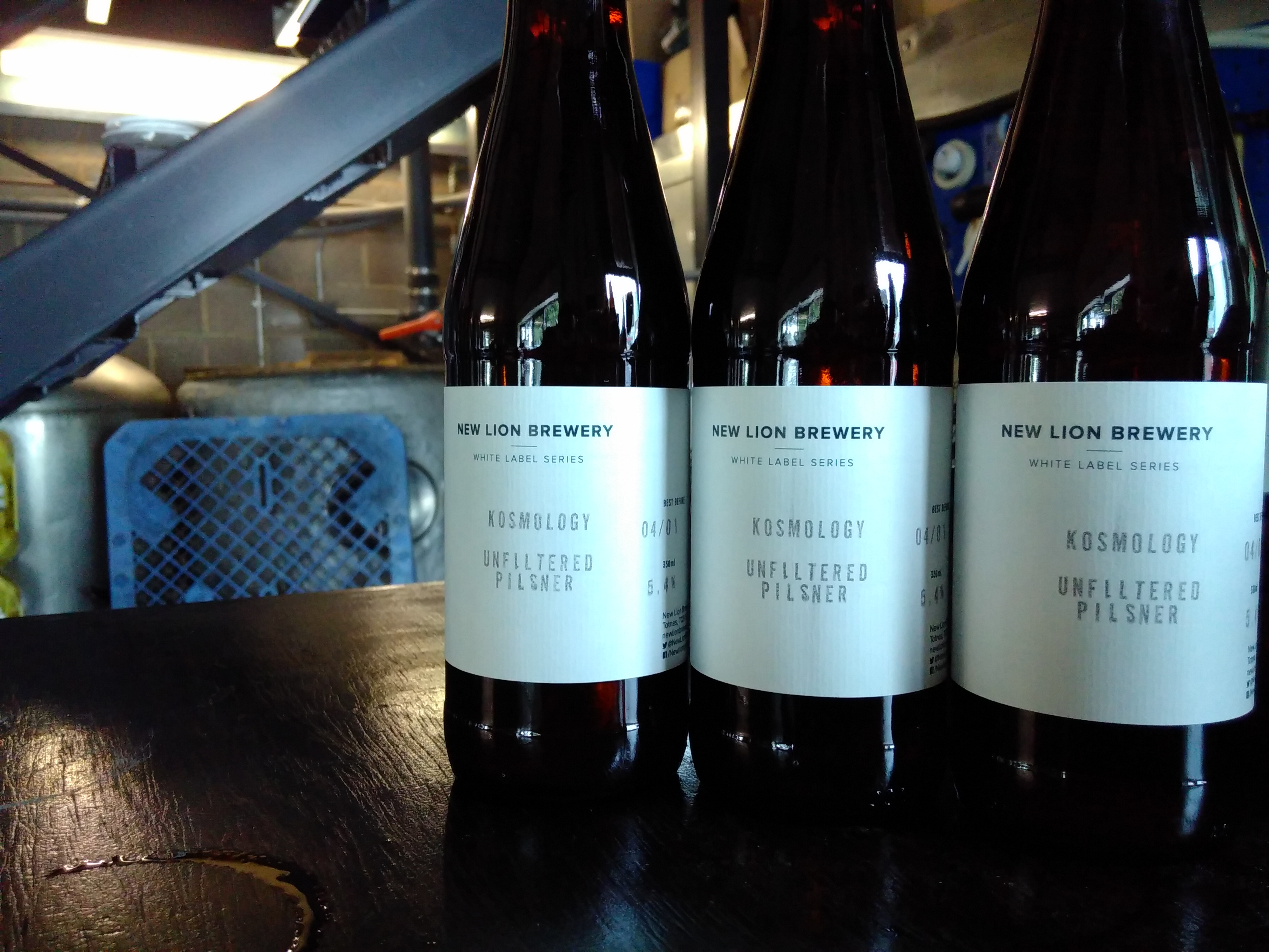 New Lion Brewery – White Label Series