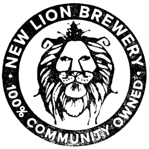 New Lion Brewery Stamp -100% Community owned